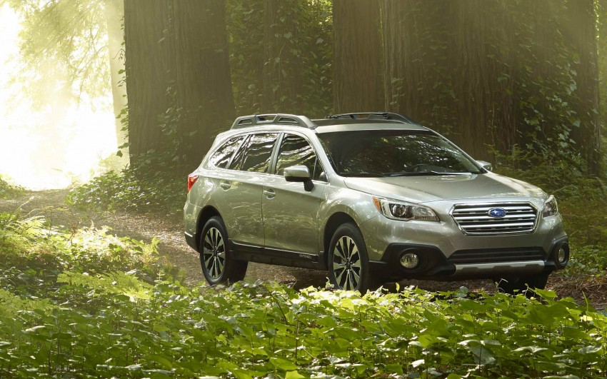 2015 Subaru Outback – jacked-up Legacy debuts in NY Image #243831