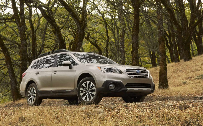 2015 Subaru Outback – jacked-up Legacy debuts in NY Image #243836