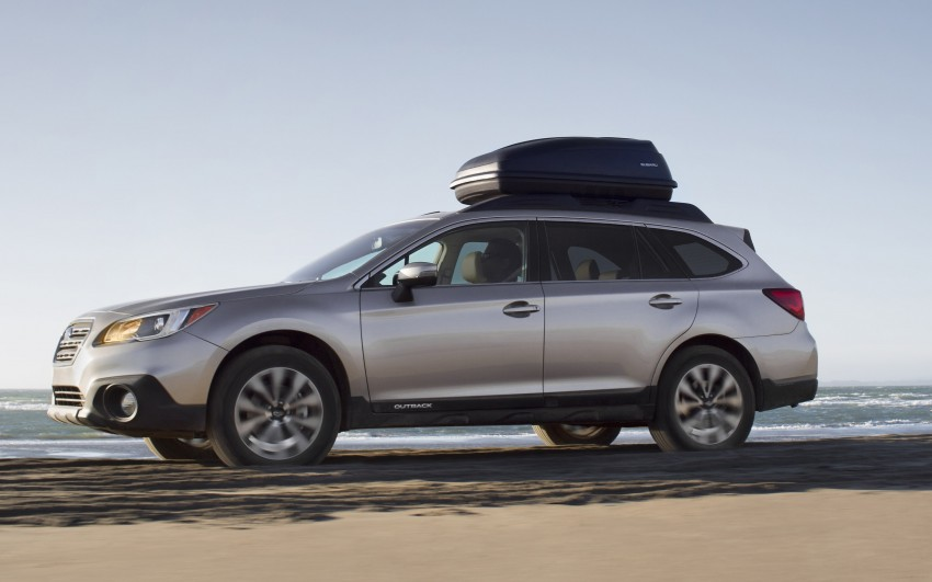 2015 Subaru Outback – jacked-up Legacy debuts in NY Image #243838