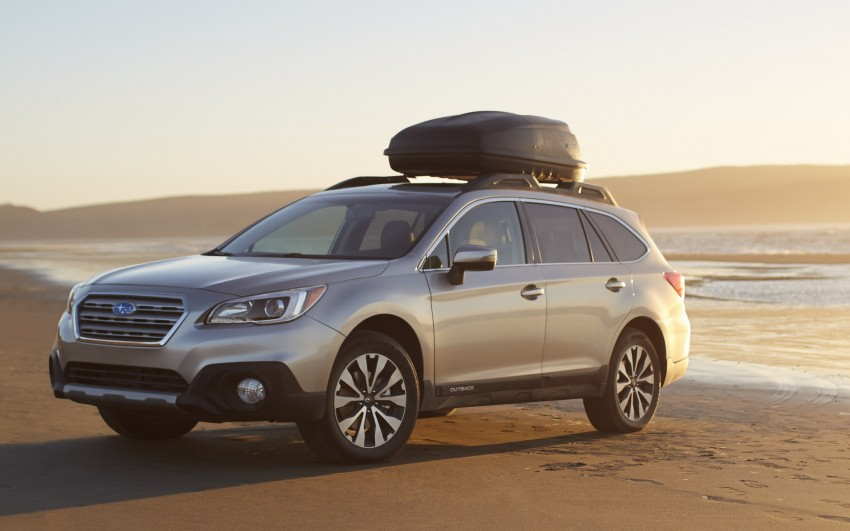 2015 Subaru Outback – jacked-up Legacy debuts in NY Image #243844