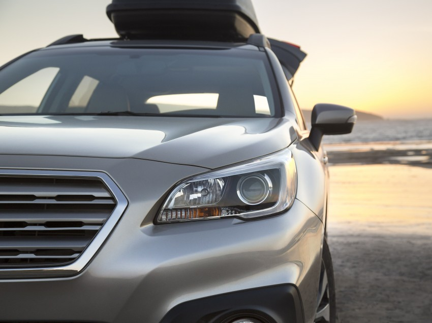 2015 Subaru Outback – jacked-up Legacy debuts in NY Image #243851