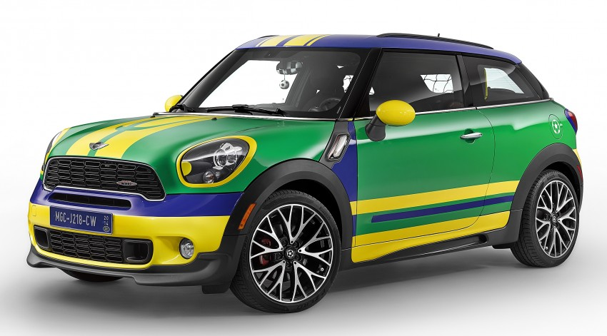 MINI Paceman GoalCooper – score big with this one Image #238667