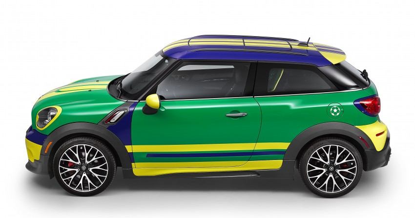 MINI Paceman GoalCooper – score big with this one Image #238663