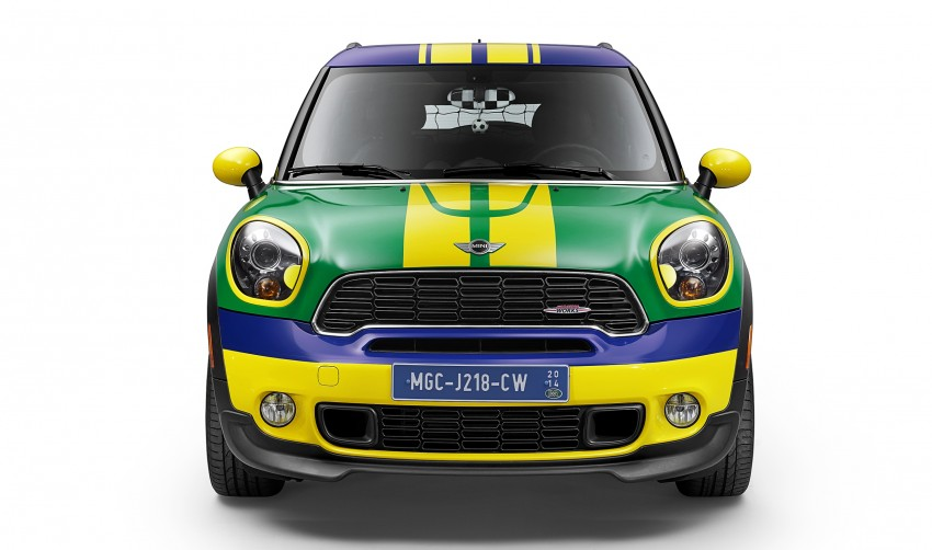 MINI Paceman GoalCooper – score big with this one Image #238658
