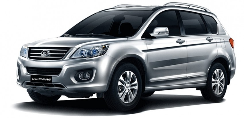 First EEV manufacturing license issued to GAM for Great Wall Motors products, the Haval M4 and H6 Image #240098