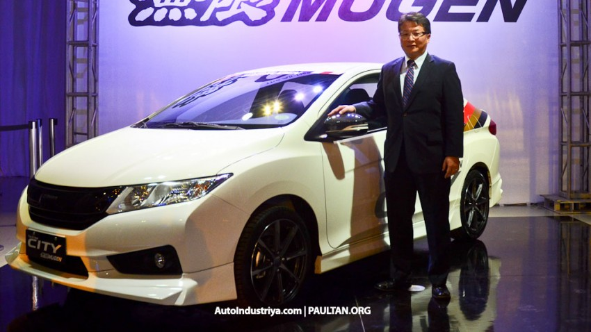 Honda City Mugen Prototype debuts in the Philippines Image #244664