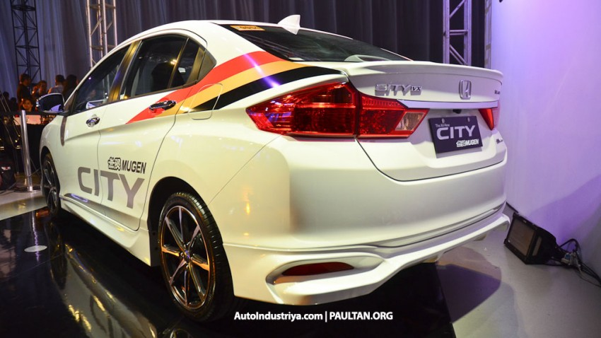 Honda City Mugen Prototype debuts in the Philippines Image #244665