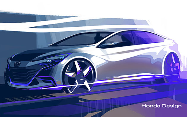 Honda bringing two new concept cars to Auto China 2014, one could preview the next Accord Euro Image #239743