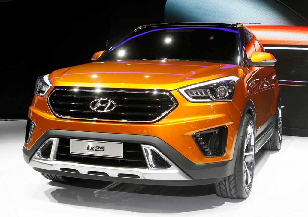 Hyundai Ix25 Concept Previews Upcoming B Suv For China
