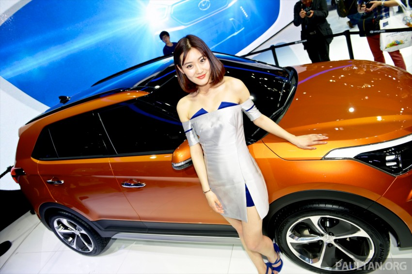 Hyundai ix25 concept previews B-seg SUV for China Image #244200