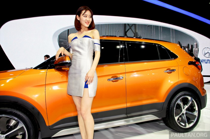 Hyundai ix25 concept previews B-seg SUV for China Image #244212