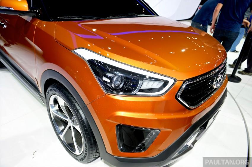 Hyundai ix25 concept previews B-seg SUV for China Image #244215
