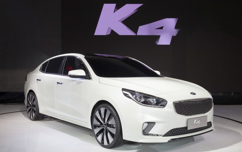 Beijing 2014: China-only Kia K4 sedan breaks cover Image #242704