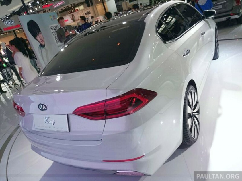 Beijing 2014: China-only Kia K4 sedan breaks cover Image #242700