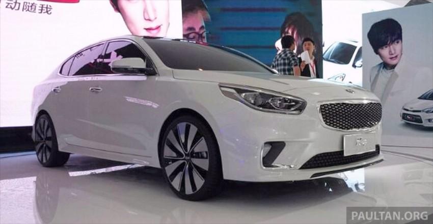 Beijing 2014: China-only Kia K4 sedan breaks cover Image #242699