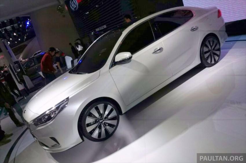 Beijing 2014: China-only Kia K4 sedan breaks cover Image #242698