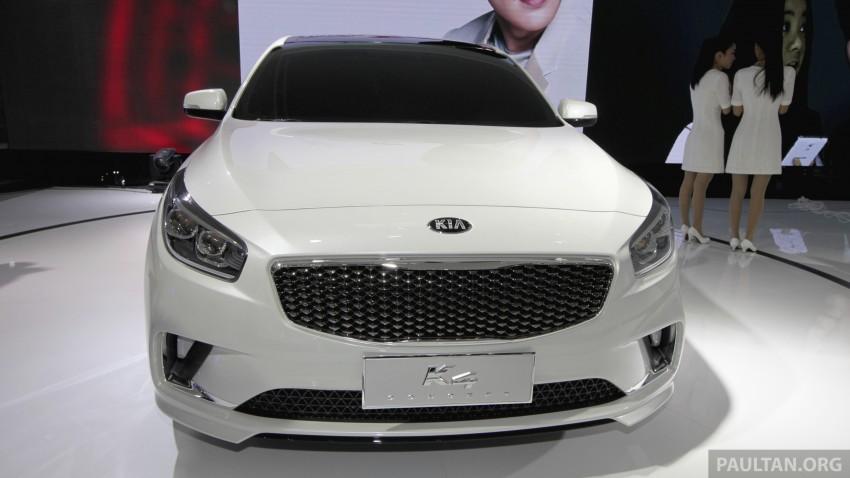 Beijing 2014: China-only Kia K4 sedan breaks cover Image #242878