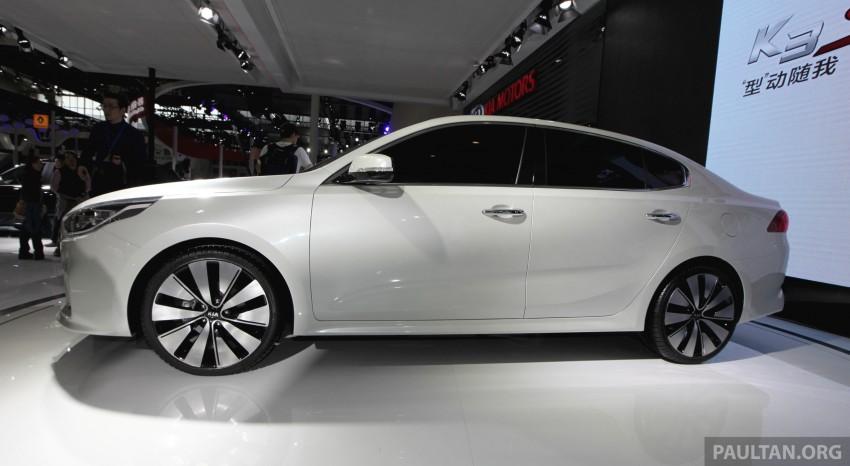 Beijing 2014: China-only Kia K4 sedan breaks cover Image #242879