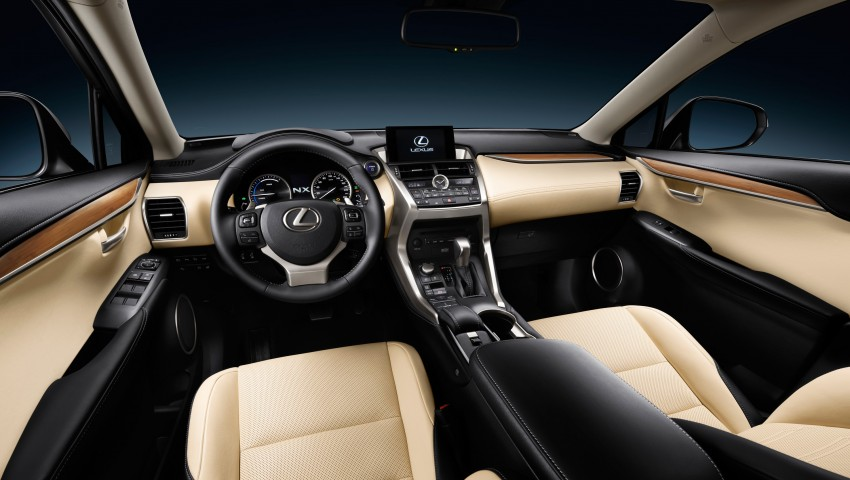 Lexus NX – first photos released ahead of Beijing Image #240440