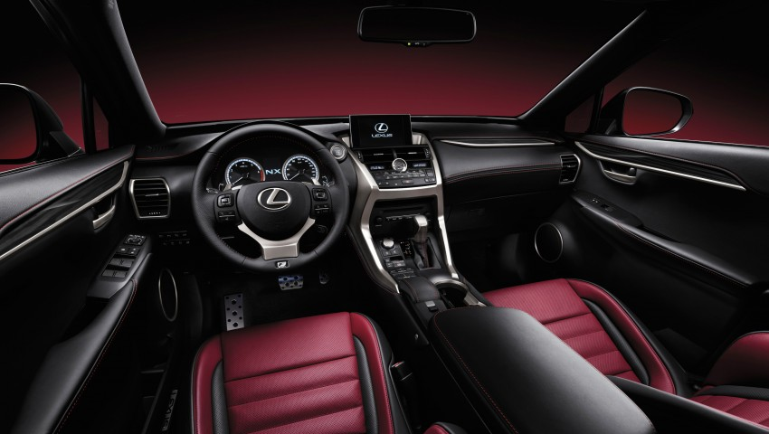 Lexus NX – first photos released ahead of Beijing Image #240442