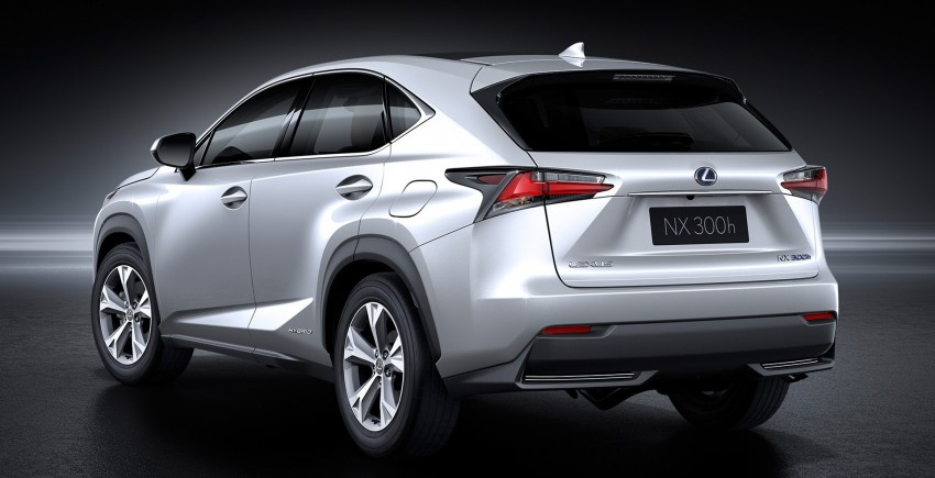Lexus NX – first photos released ahead of Beijing Image #240444