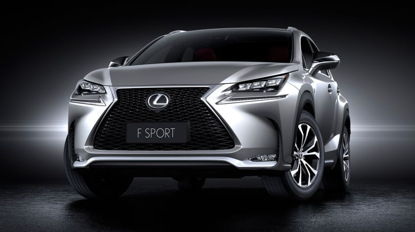 Lexus NX – first photos released ahead of Beijing Image #240446