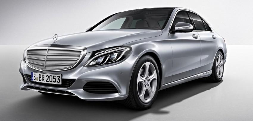 Mercedes-Benz C-Class L – a long-wheelbase W205 Image #242753