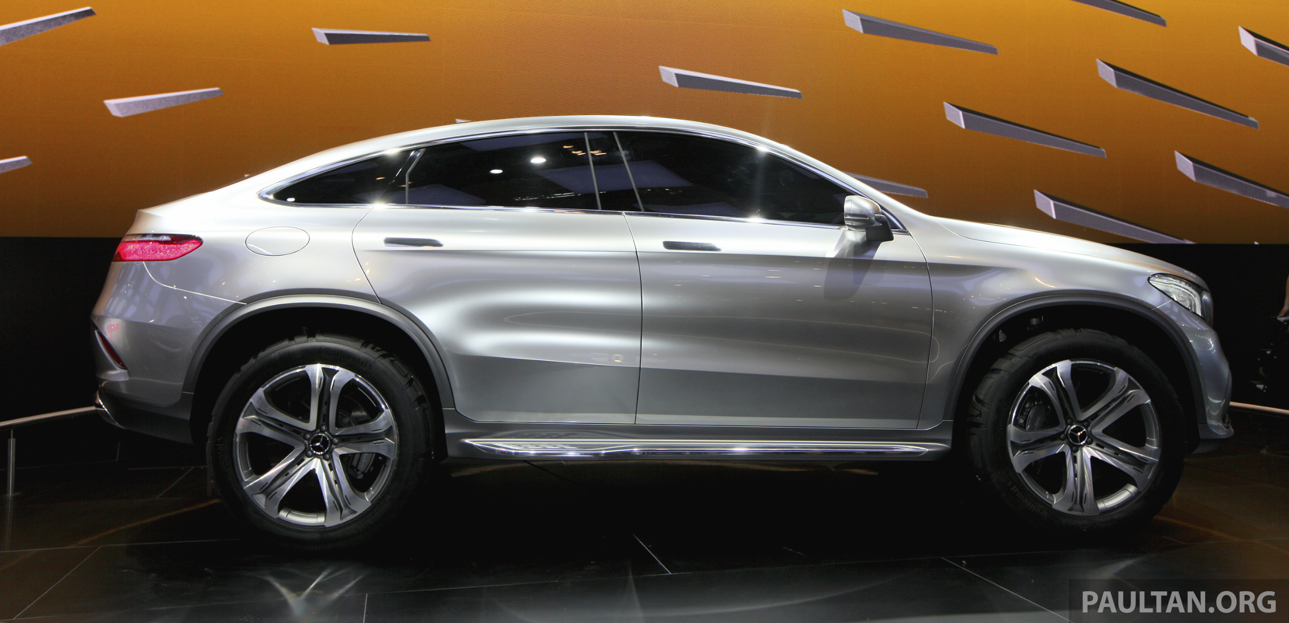 Mercedes benz coupe suv concept previews x6 rival image 242816 for Pictures of mercedes benz suv