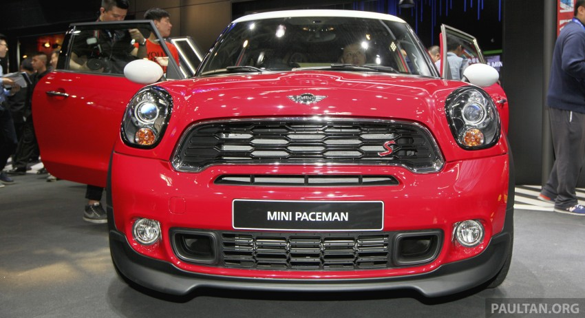 MINI Paceman gets very minor facelift, Beijing debut Image #243249
