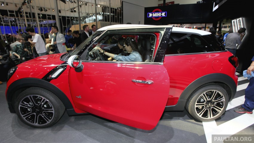 MINI Paceman gets very minor facelift, Beijing debut Image #243250