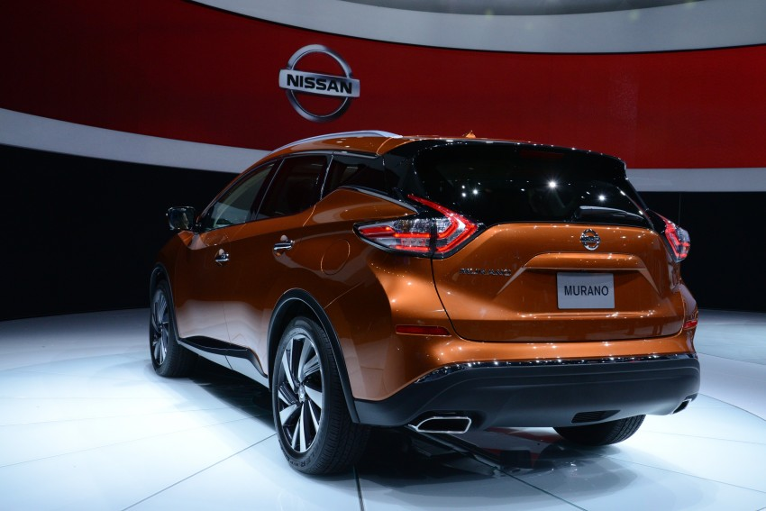 Third-generation Nissan Murano – first official photos Image #243050