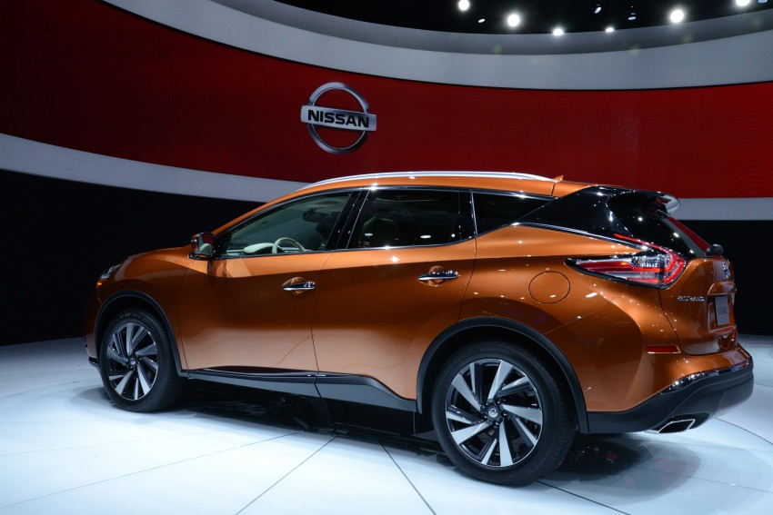 Third-generation Nissan Murano – first official photos Image #243051
