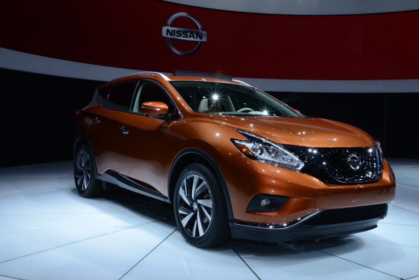 Third-generation Nissan Murano – first official photos Image #243054