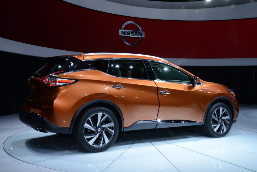 Third-generation Nissan Murano – first official photos Image #243057