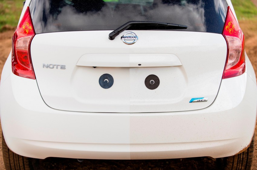 Nissan develops a prototype car that can clean itself! Image #244246