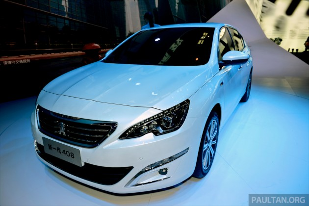 New Peugeot 408 Sedan unveiled at Auto China 2014