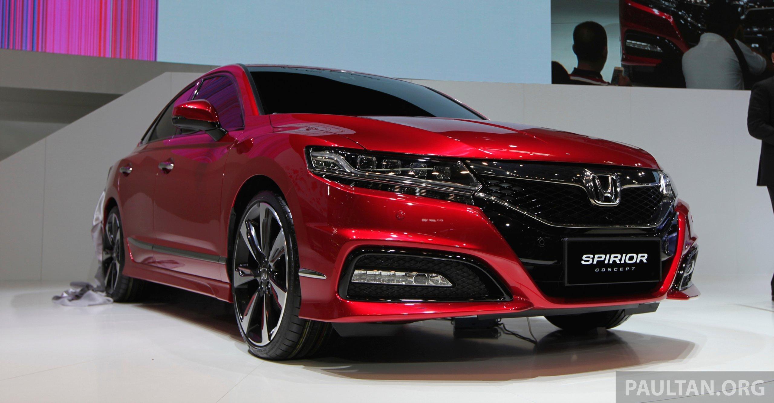 Back to Story: Honda Spirior Concept unveiled at Auto China 2014