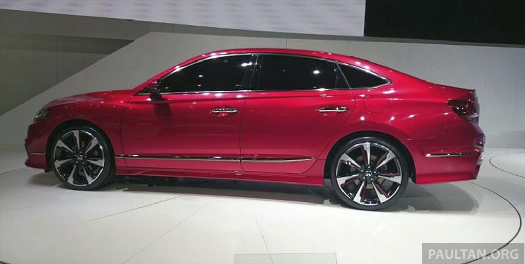 Back to Story: Honda Spirior Concept unveiled at Auto China 2014