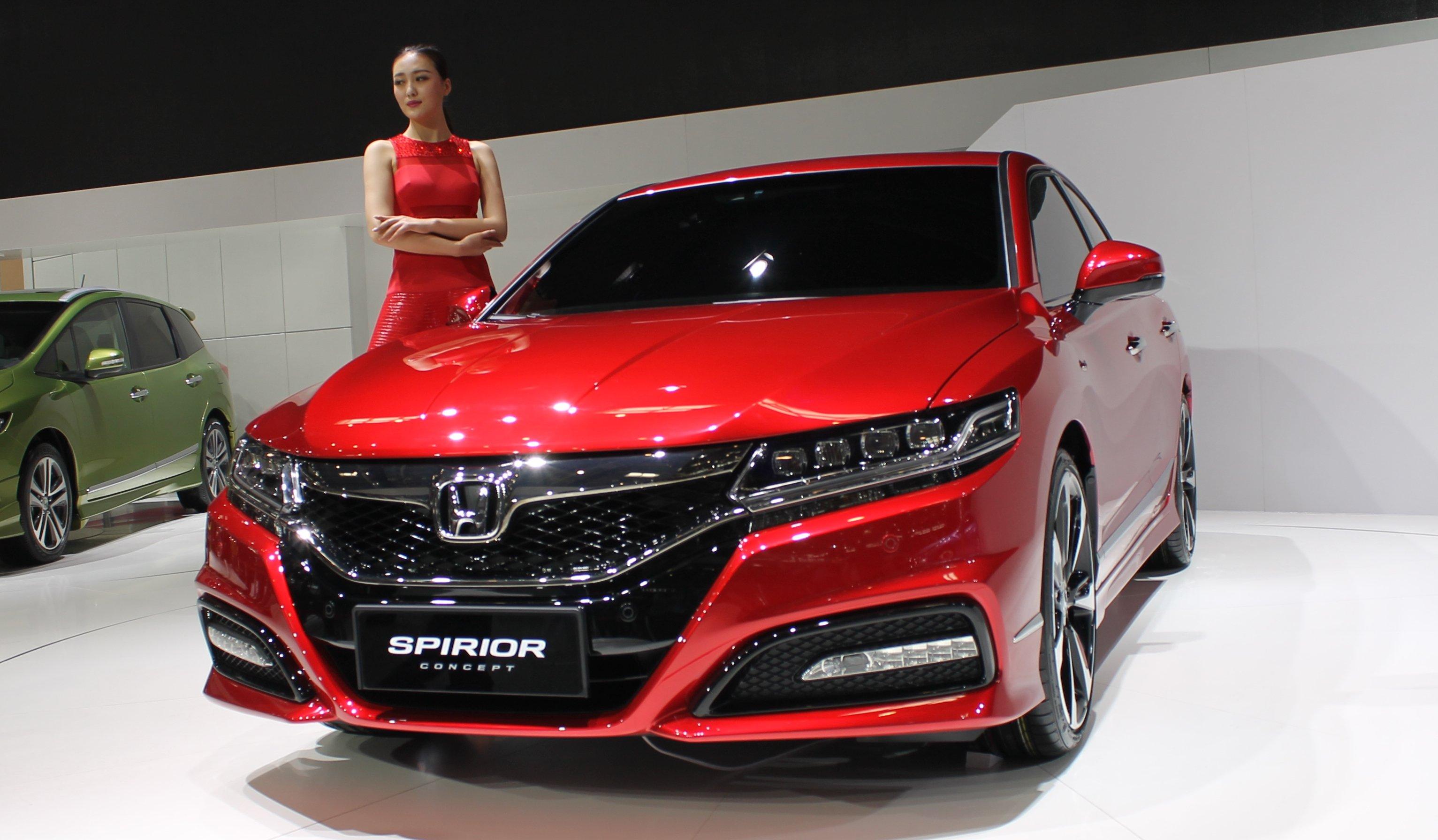 2015 Acura Tlx Tech >> Honda Spirior Concept unveiled at Auto China 2014
