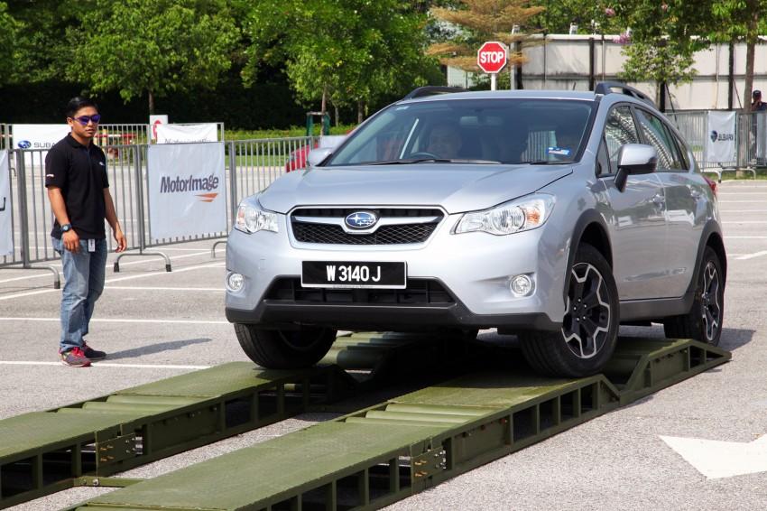 First-ever Subaru AWD Challenge held in Malaysia Image #240834