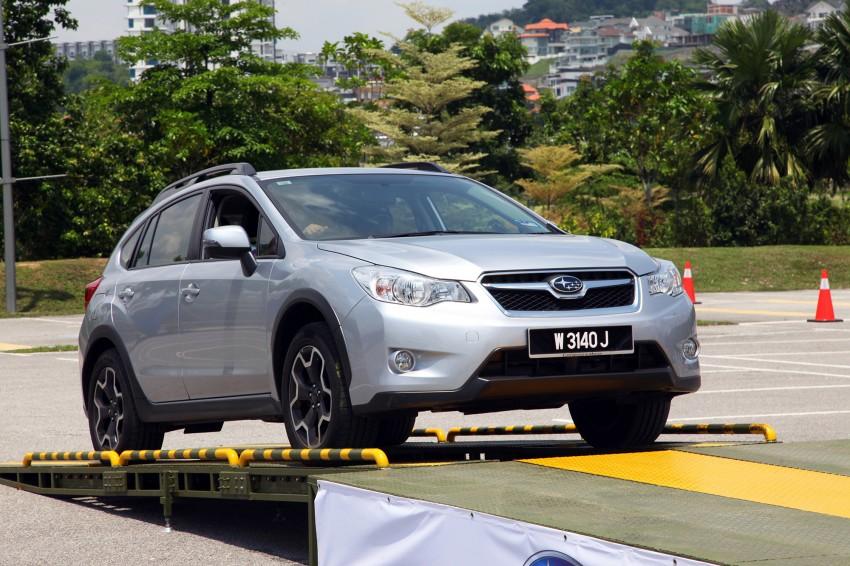 First-ever Subaru AWD Challenge held in Malaysia Image #240825