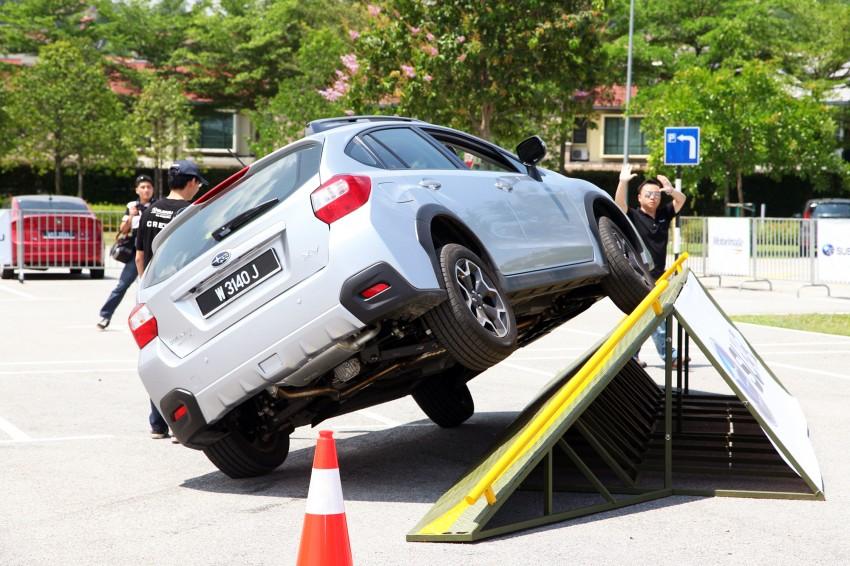 First-ever Subaru AWD Challenge held in Malaysia Image #240829