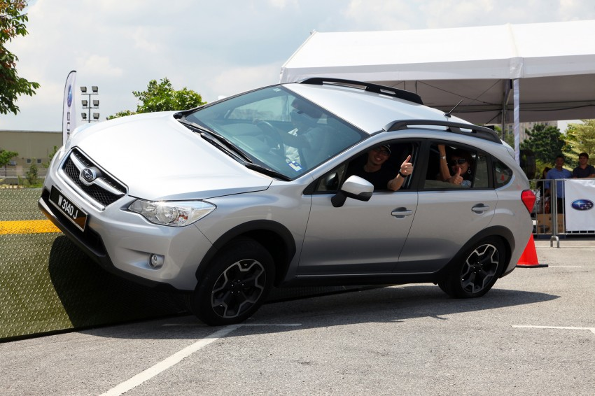 First-ever Subaru AWD Challenge held in Malaysia Image #240833