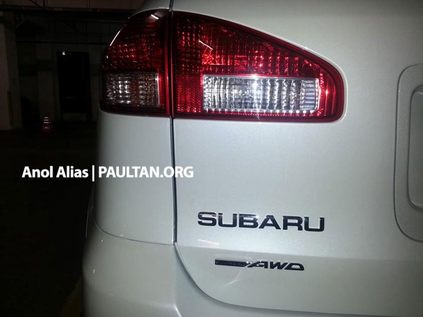Subaru Tribeca facelift – what's it doing at JPJ? Image #242377