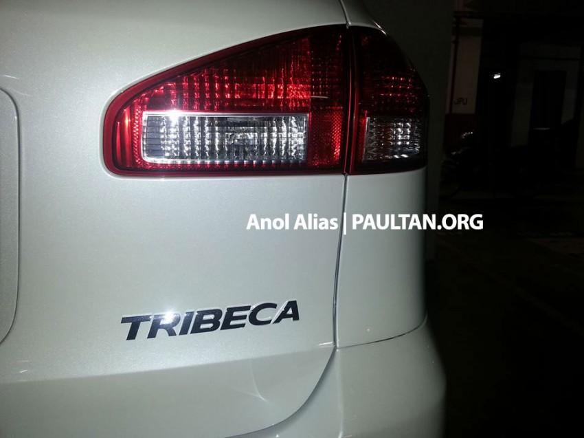 Subaru Tribeca facelift – what's it doing at JPJ? Image #242381