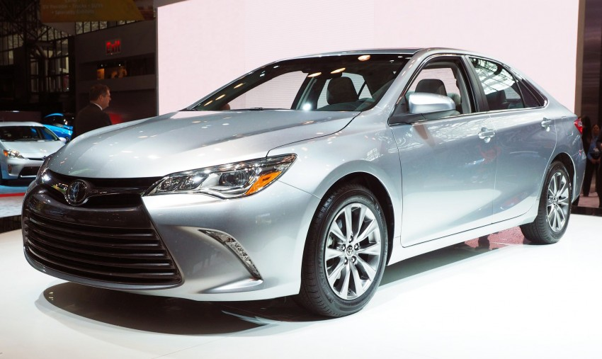 2015 Toyota Camry – major facelift unveiled in NYC Image #241939