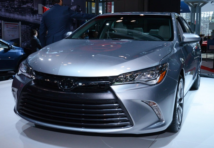 2015 Toyota Camry – major facelift unveiled in NYC Image #241940