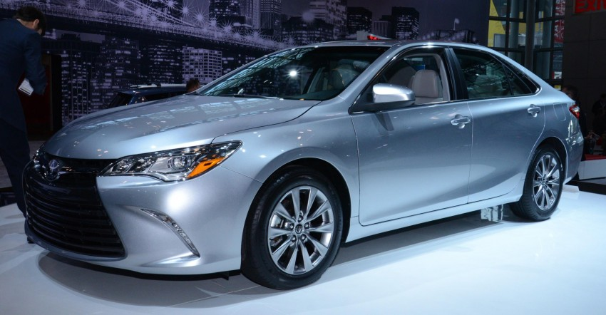 2015 Toyota Camry – major facelift unveiled in NYC Image #241941