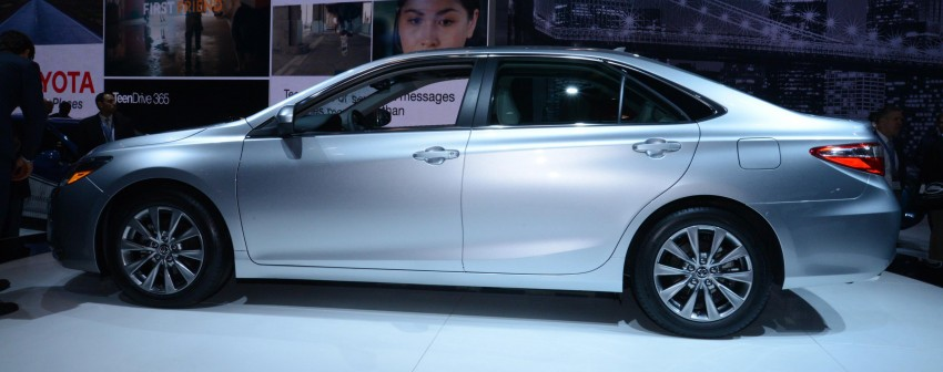2015 Toyota Camry – major facelift unveiled in NYC Image #241942