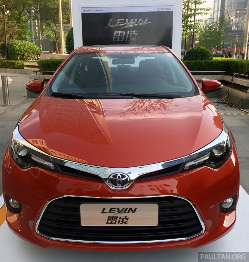 Toyota Corolla, Levin Hybrids To Be Made In China